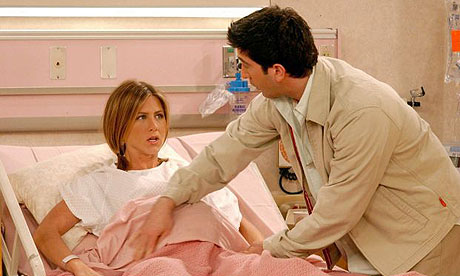 Rachel from Friends Giving Birth
